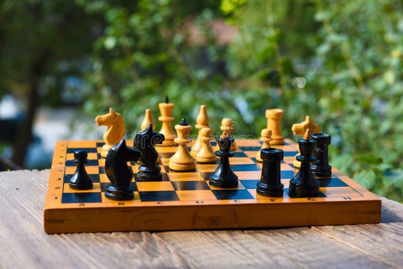 Jeu de société d'échecs images stock