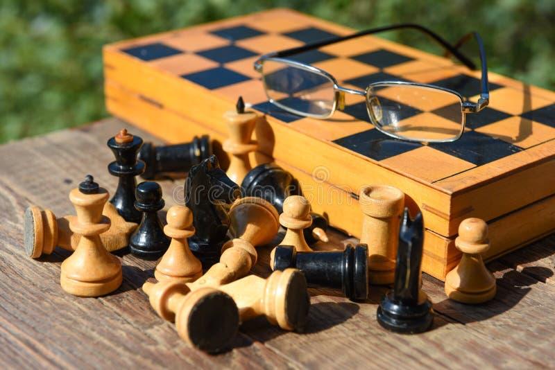 Jeu de société d'échecs images libres de droits