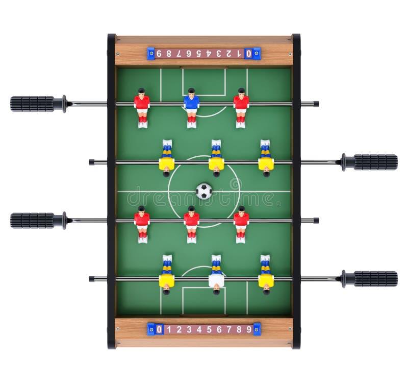 Jeu de table du football illustration stock