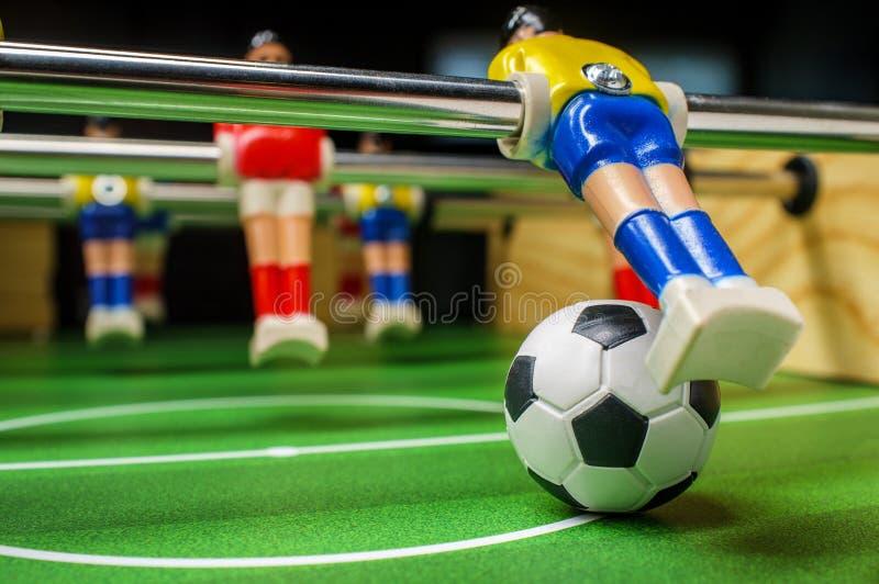 Jeu de table Foosball image libre de droits