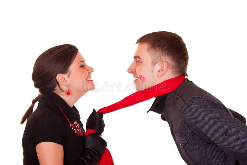 Jeu des couples images stock
