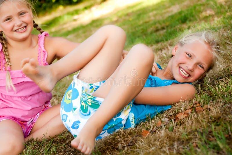 jeu des jumeaux photographie stock libre de droits