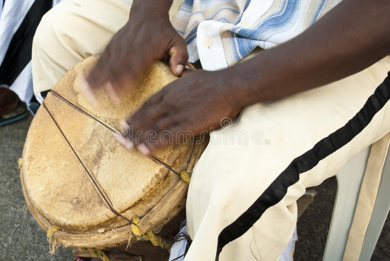 Jeu des tambours images stock