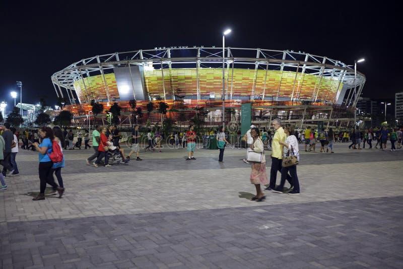 Jeu 2016 du Brésil - du Rio De Janeiro - de Paralympic le parc olympique photographie stock