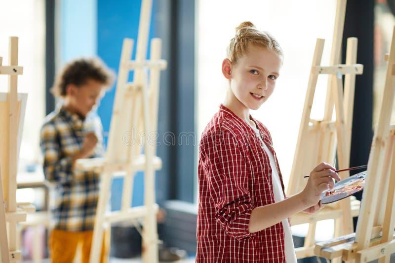 Jeugdige kunstenaar stock afbeeldingen