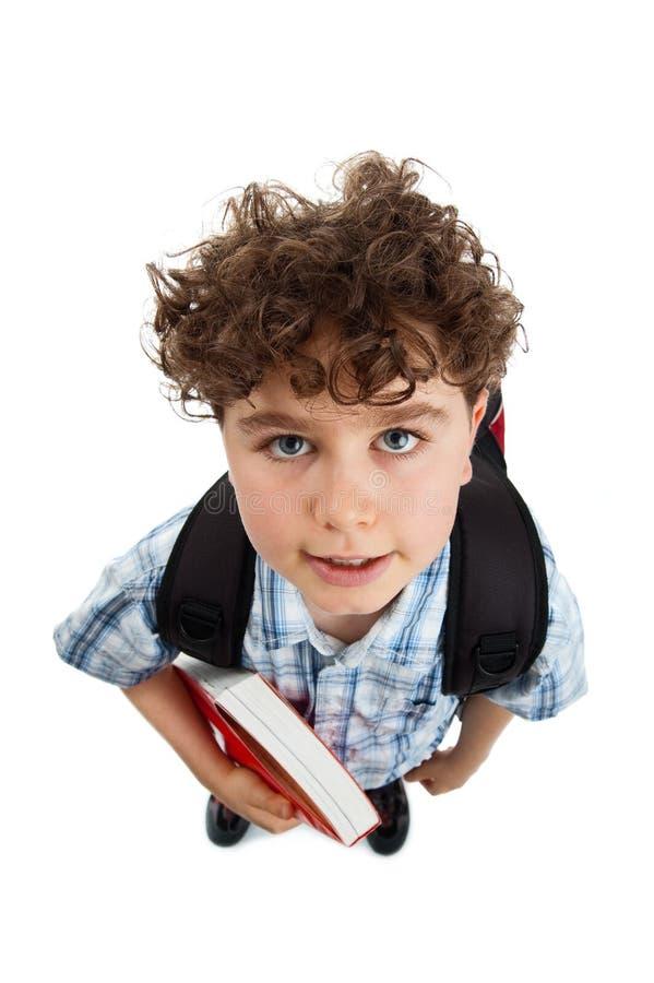 Jeune étudiant élémentaire photos stock