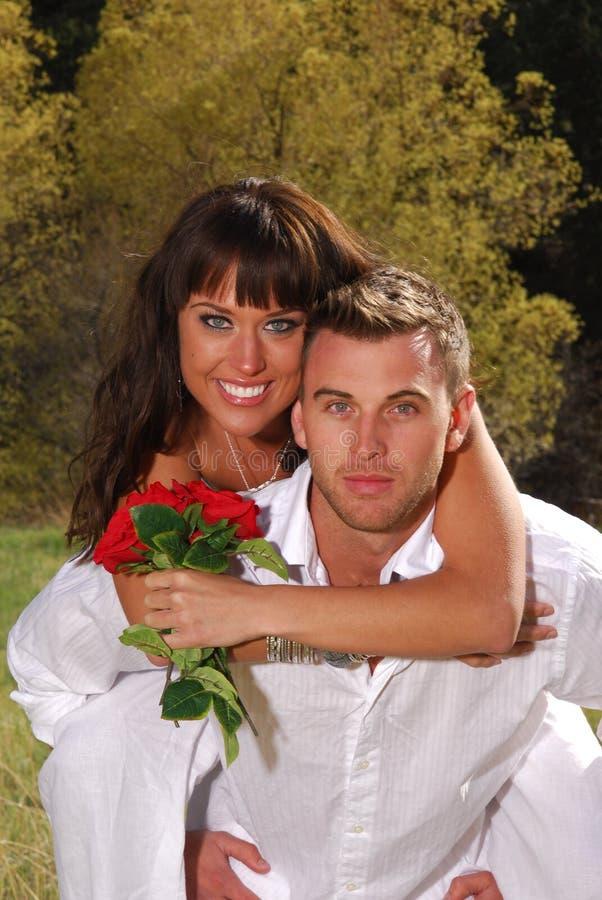 Jeune amour photographie stock libre de droits
