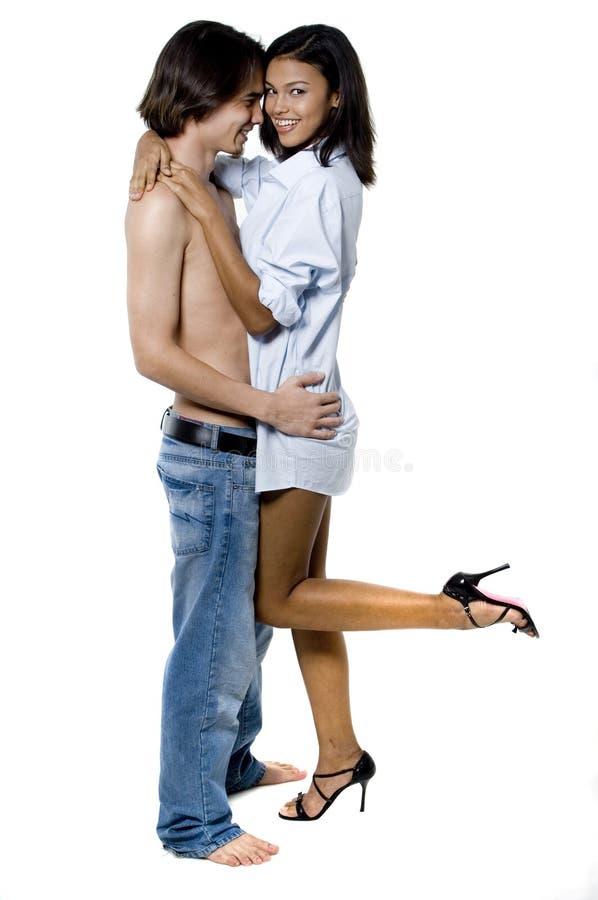 Jeune amour photographie stock