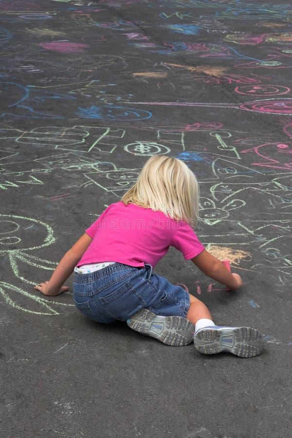 Jeune artiste image libre de droits