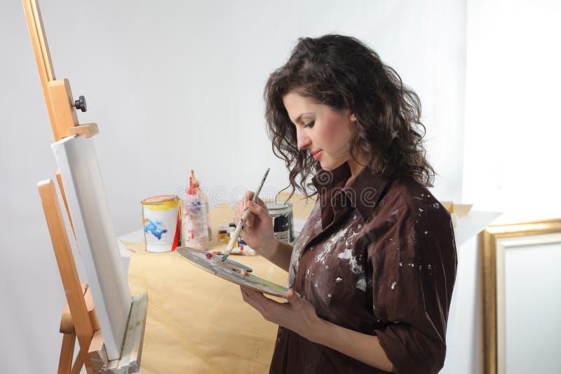Jeune artiste photographie stock