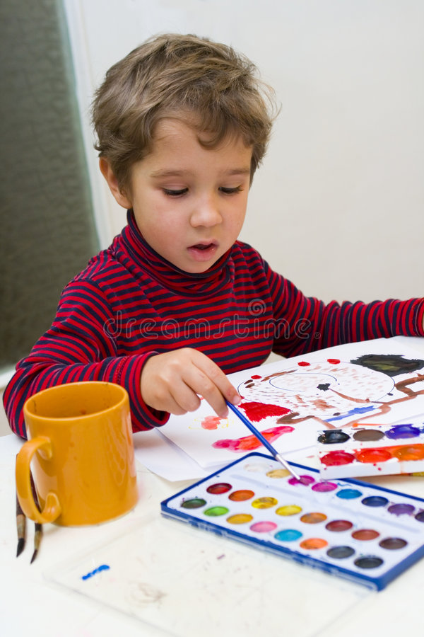 Jeune artiste images stock