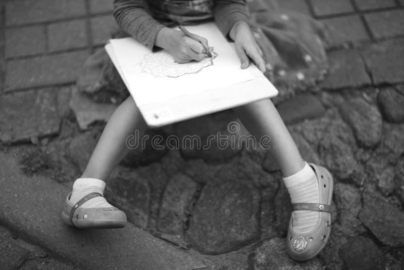 Jeune artiste photographie stock libre de droits