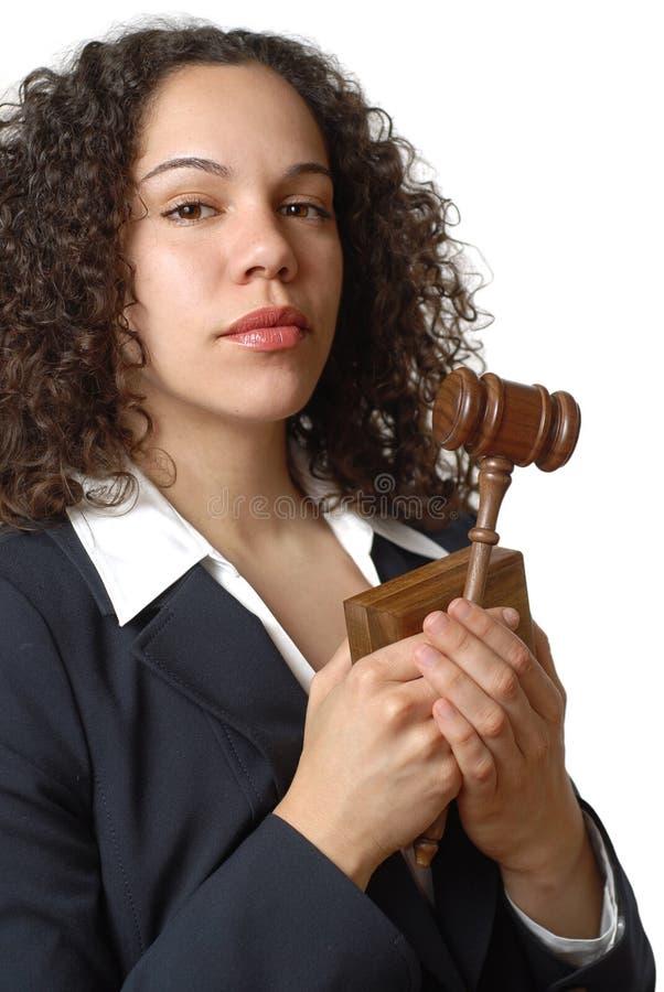 Jeune avocat fier photographie stock libre de droits