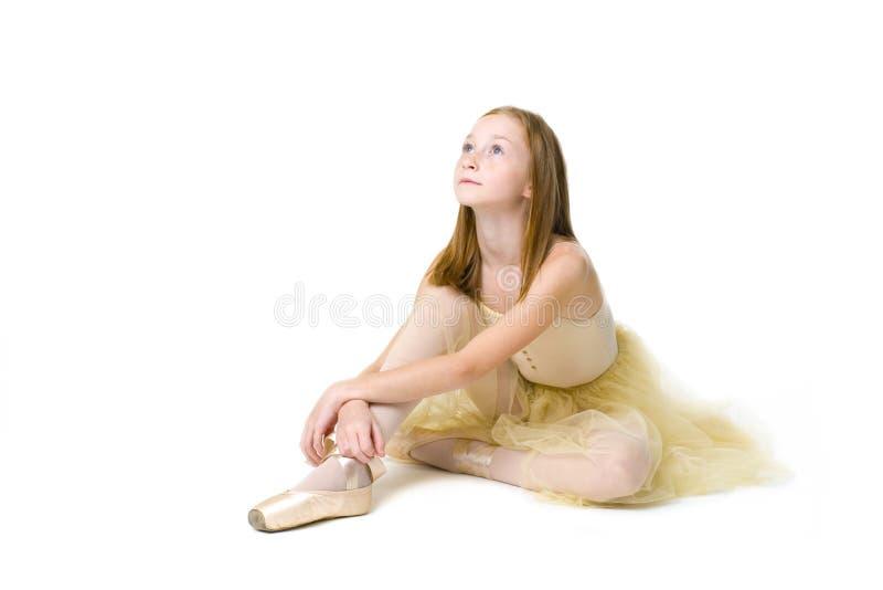 Jeune ballerine images libres de droits