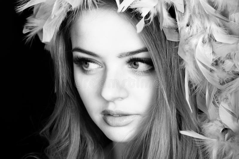 Jeune belle femme photographie stock