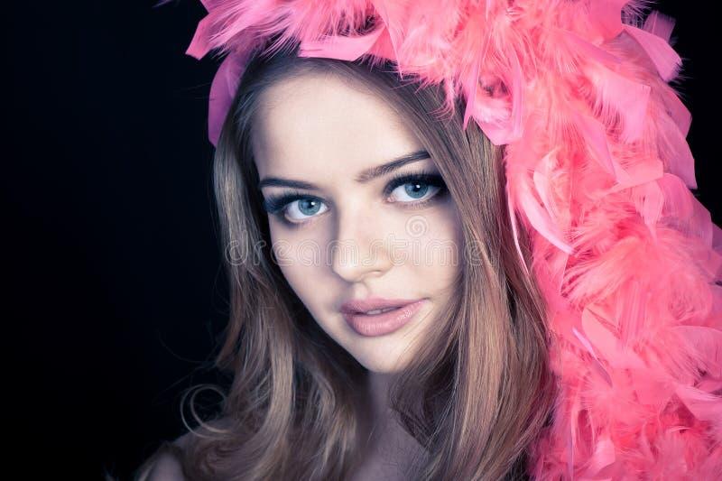 Jeune belle femme photos stock