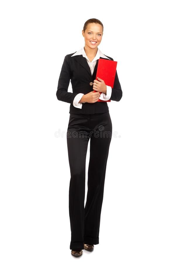 Jeune belle femme d'affaires photos stock