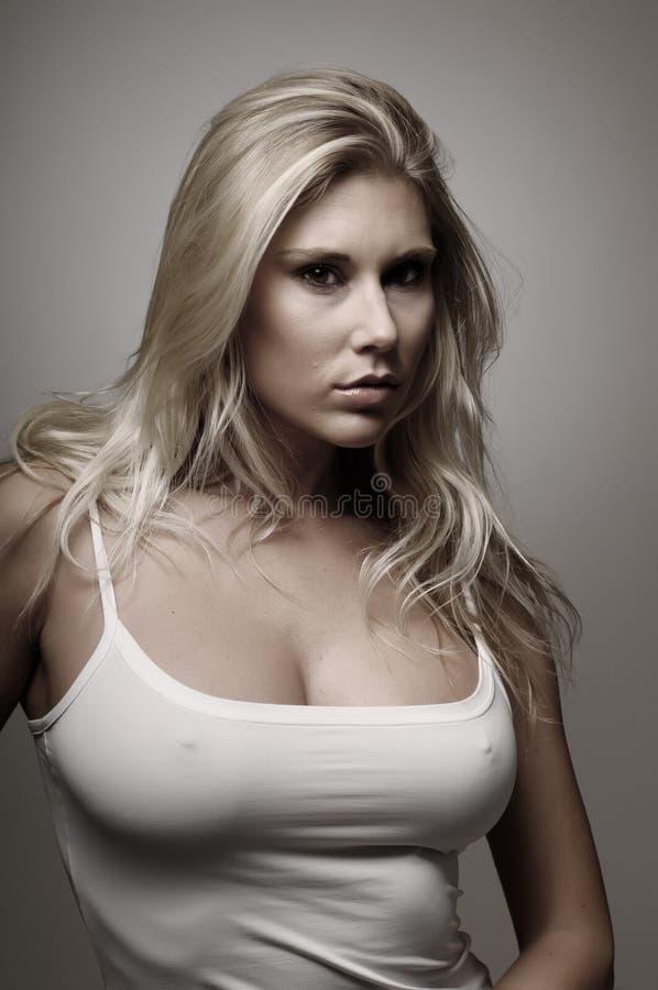 Jeune blondie photographie stock libre de droits