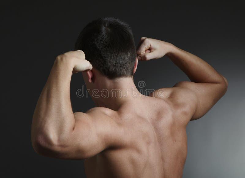 Jeune bodybuilder photo libre de droits