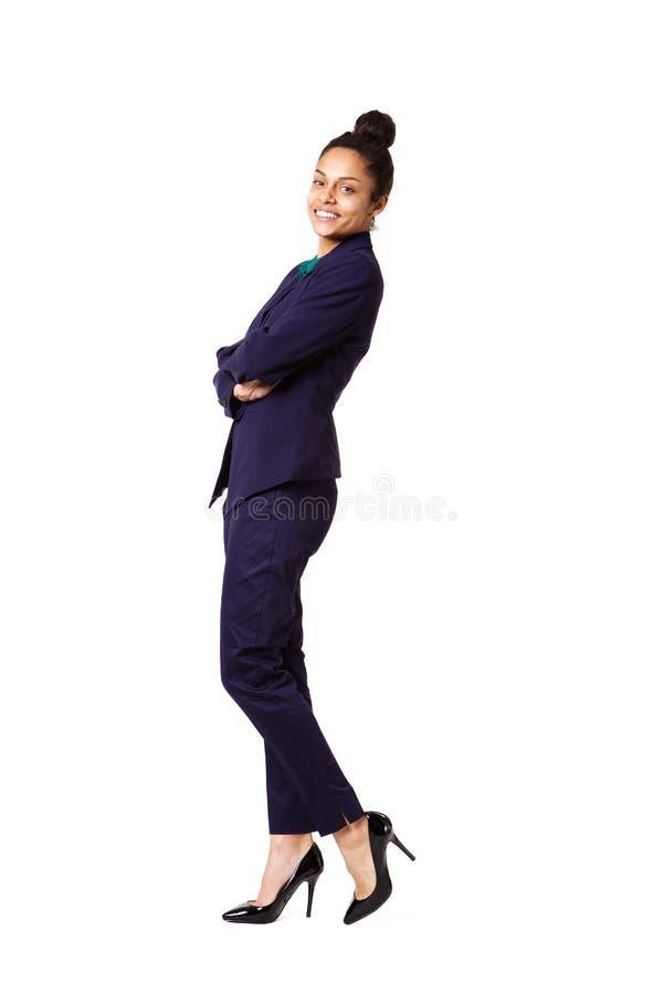 Jeune cadre commercial féminin sûr images stock