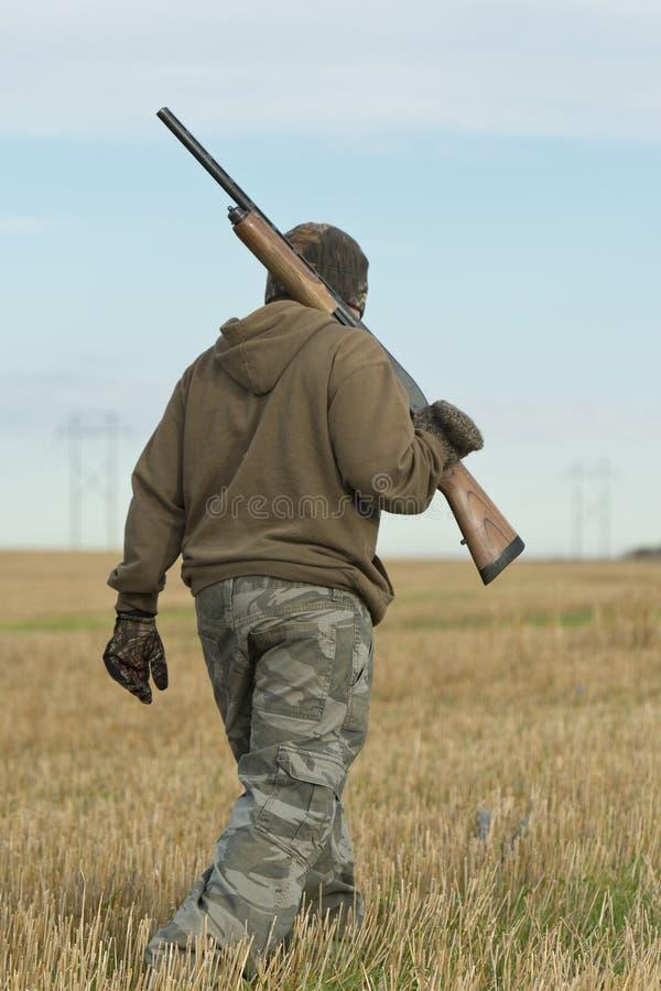 Jeune chasseur photo libre de droits