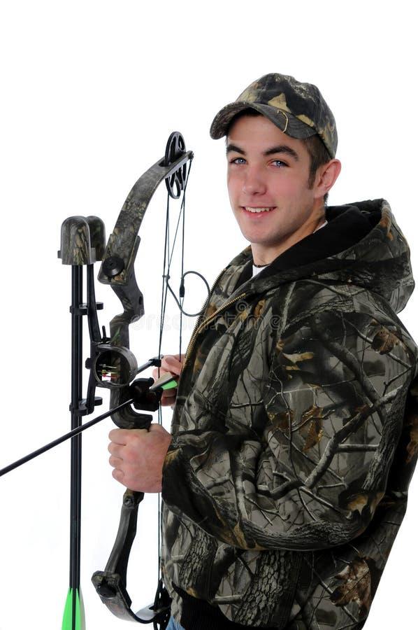 Jeune chasseur photographie stock