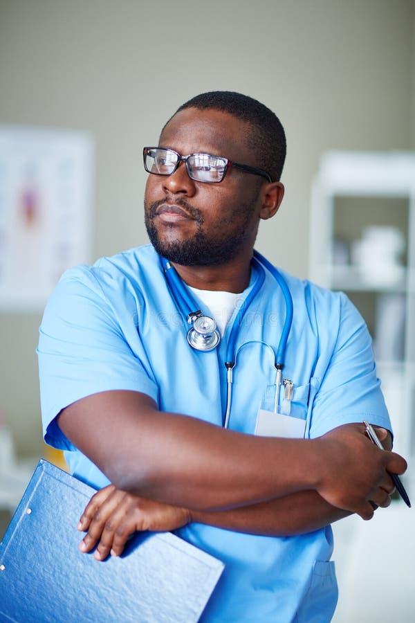 Jeune clinicien images stock