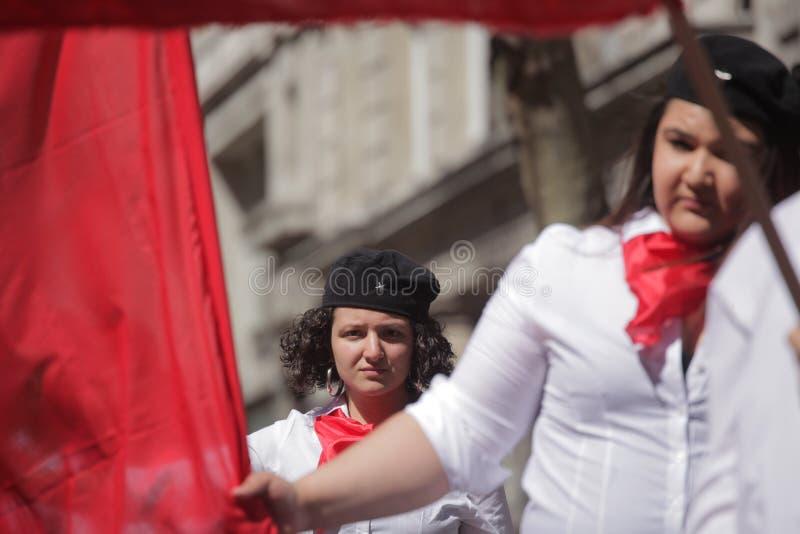 Jeune communiste photos stock
