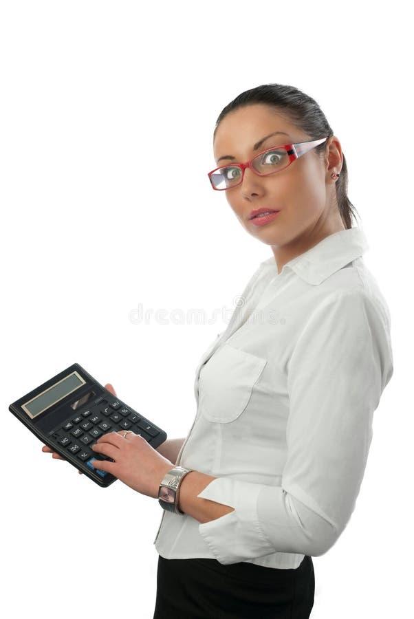 Jeune comptable attirant photo libre de droits