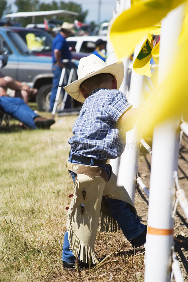 Jeune cowboy images stock