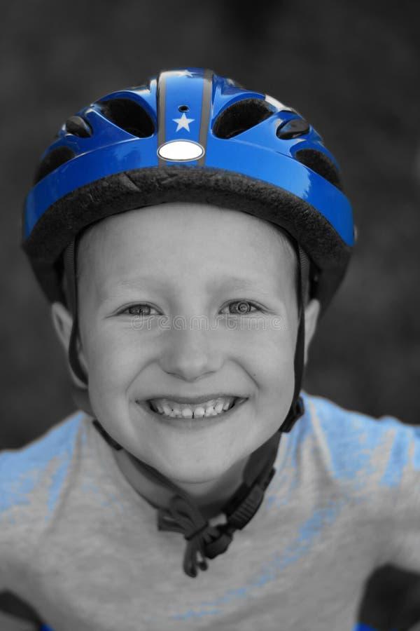 Jeune cycliste image libre de droits