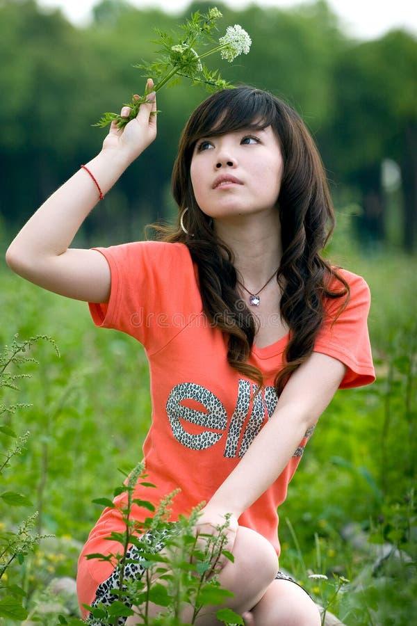 Jeune dame photo libre de droits