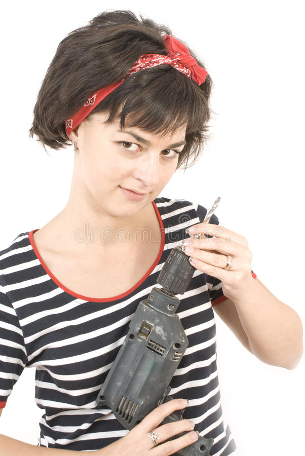 Jeune dame attirante images stock