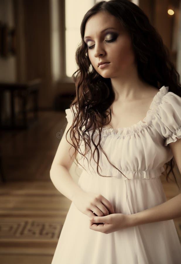 Jeune dame de victorian photos stock