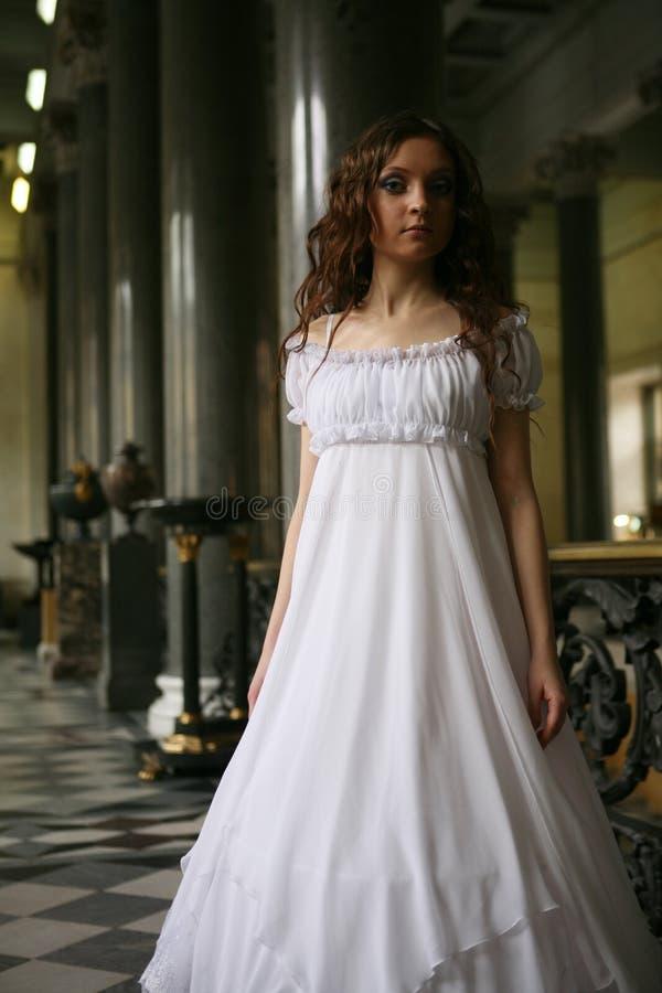 Jeune dame de victorian image stock