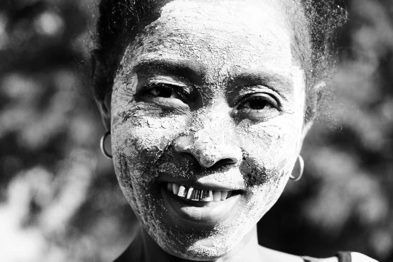 Jeune dame du Madagascar photos stock
