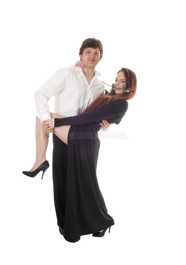 Jeune danse belle de couples photos libres de droits