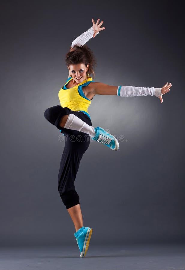 Jeune danse femelle images libres de droits