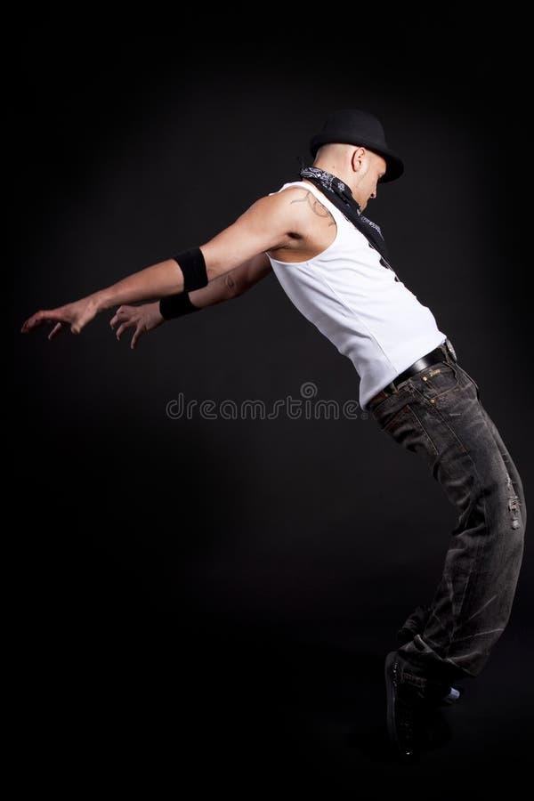 Jeune danseur élégant image stock