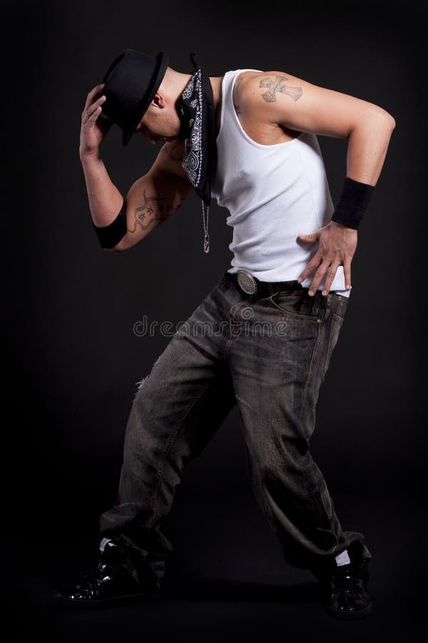 Jeune danseur élégant photo libre de droits