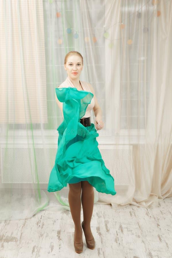 Danseur blond image libre de droits