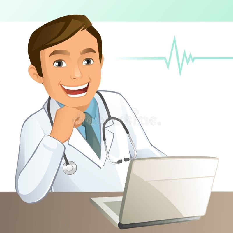 Jeune docteur illustration stock