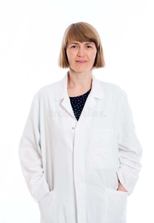 Jeune docteur féminin photographie stock libre de droits