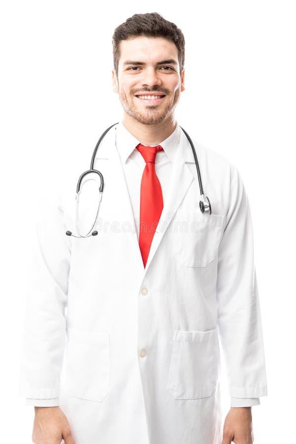 Jeune docteur hispanique beau images libres de droits