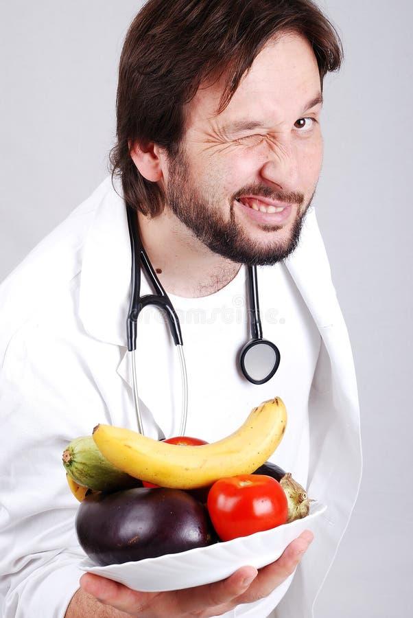 Jeune docteur mâle photo libre de droits