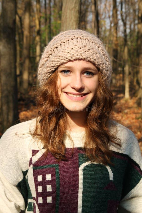 Adolescent de sourire images stock