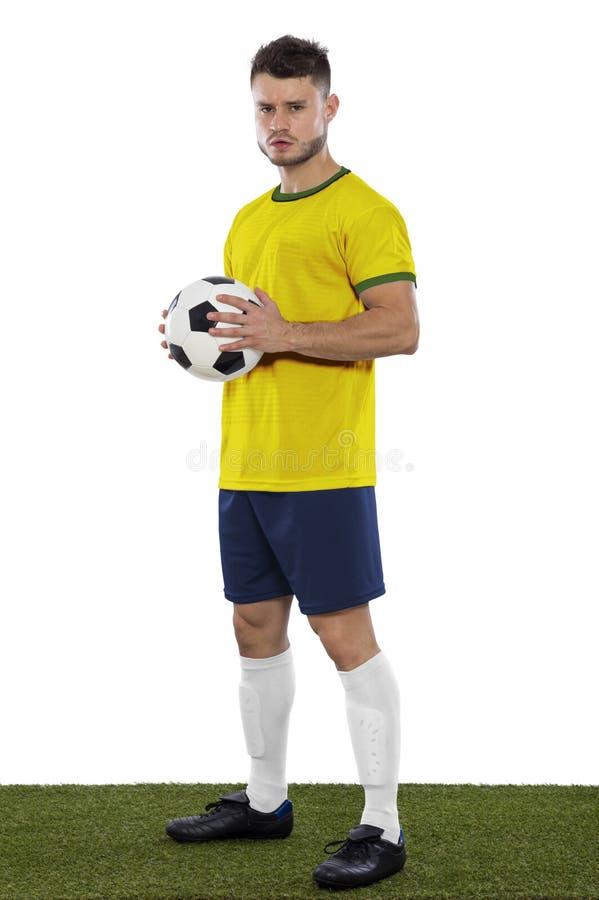 Jeune fan de foot photos libres de droits