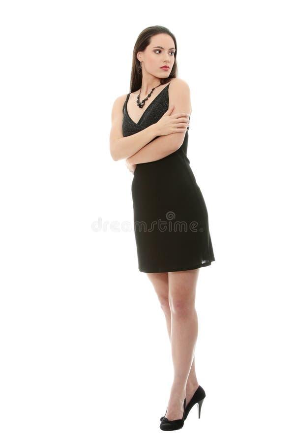 Jeune femme élégante images libres de droits