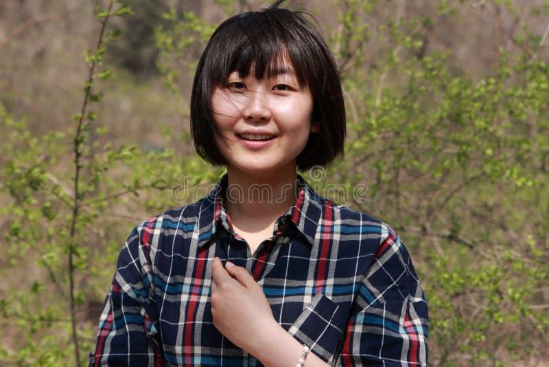 Jeune femme asiatique photo libre de droits
