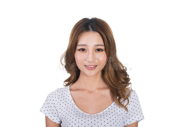 Jeune femme asiatique images libres de droits